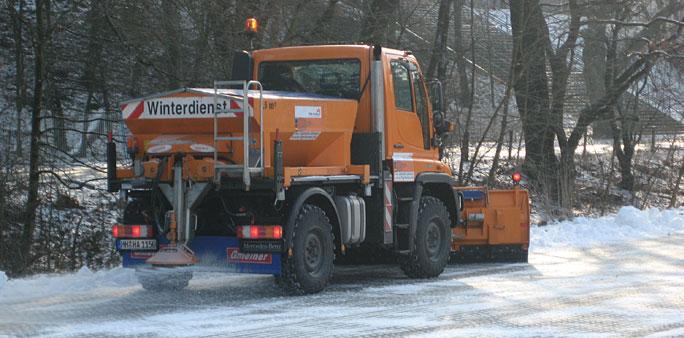 Winterdienst  Winterdienst Hamburg und Umgebung – Schneeräumen in der Region ...